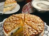 Fruchtige Quark-Mandel-Torte Rezept