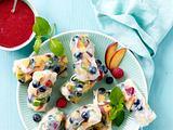 Fruchtige Sommerrollen Rezept