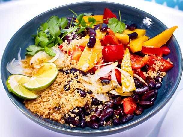 Fruchtiger Bohnensalat Rezept