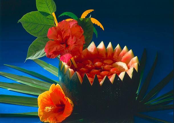 Fruchtiger Campari-Melonen-Drink Rezept