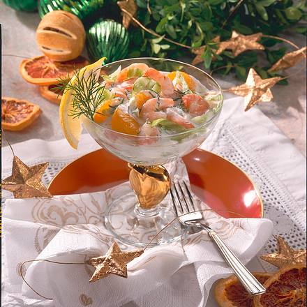 Fruchtiger Krabben-Cocktail Rezept