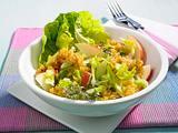 Fruchtiger Linsen-Salat mit Thymian-Vinaigrette Rezept