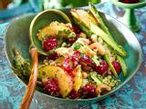 Fruchtiger Spargelsalat mit Quinoa Rezept