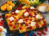 Fruchtiger Zitronenblechkuchen Rezept