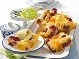 Früchte-Blechkuchen Rezept