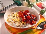 Früchte-Müsli mit Grütze und Milch Rezept