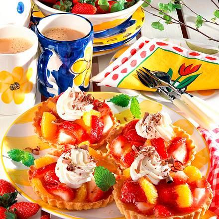 Früchte-Torteletts Rezept