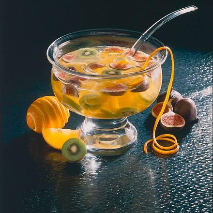 Früchtebowle Rezept