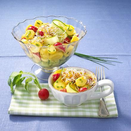 Frühlings-Kartoffelsalat Rezept