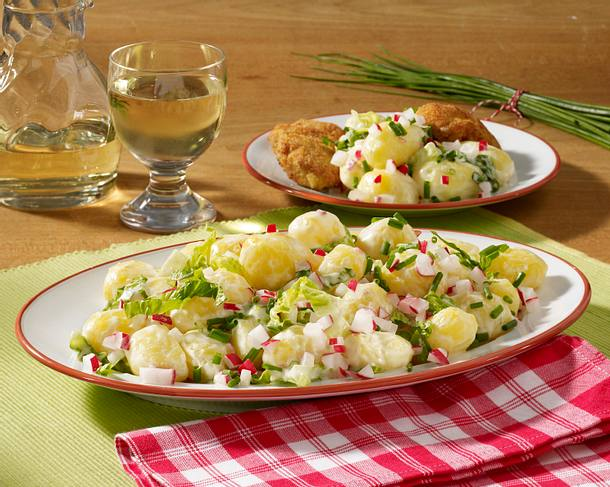 Frühlings-Kartoffelsalat aus neuen Kartoffeln Rezept
