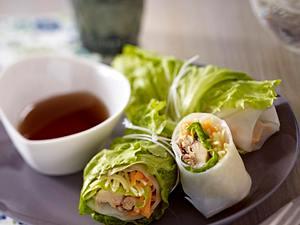 Frühlingsrollen mit Sardinen (ohne Salat) Rezept