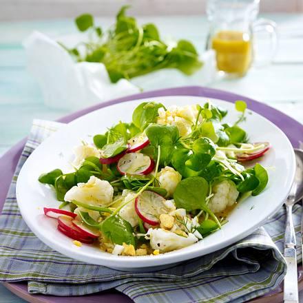Frühlingssalat mit Portulak Rezept
