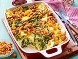 Für Spontan-Köche: Ravioli-Spinat-Auflauf Rezept