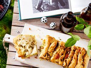 Fussball-Grill-Party – Kräuter-Butter-Brot Rezept