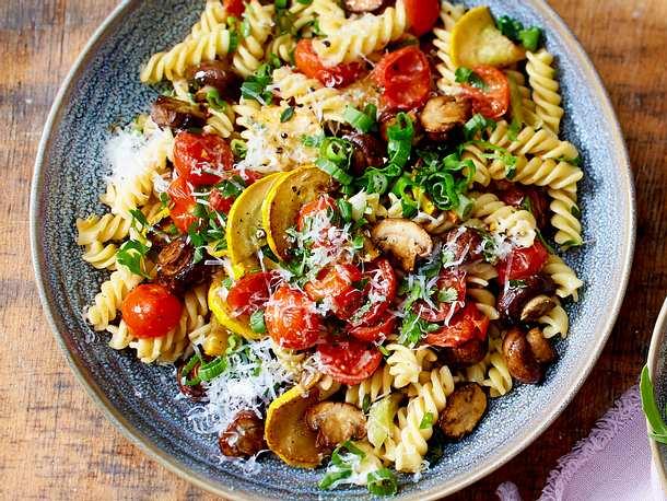 Fusillinchen vegetariana Rezept