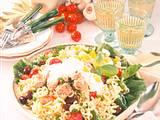 Gabel-Spaghetti-Salat Rezept