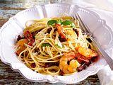 Garnelen auf speedy Spaghettini Rezept
