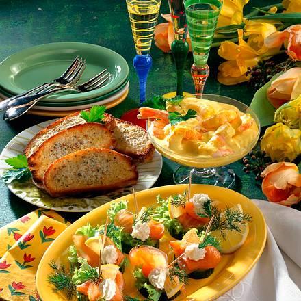 Garnelen in Currycreme Rezept