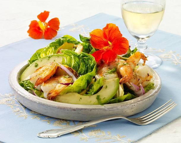 Garnelen-Salat mit Avocado Rezept