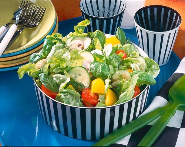 Gartensalat Rezept