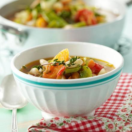 Gartensuppe mit Nudeln Rezept