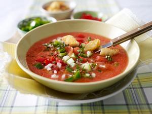 Gazpacho – kalte Tomatensuppe Rezept