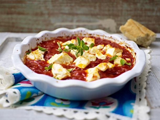 Gebackene Feta-Tomaten Rezept