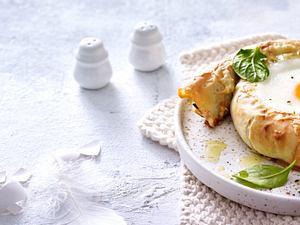 Gebackene Filo-Eier-Schnecken Rezept