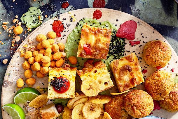 Gebackene Mac-'n'-Cheese-Würfel Rezept