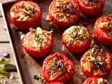 Gebackene Tomaten mit Honig und Thymian Rezept