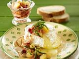 Gebackener Camembert mit Apfel-Chutney Rezept