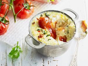 Gebackener Ricotta mit Tomaten-Chutney Rezept