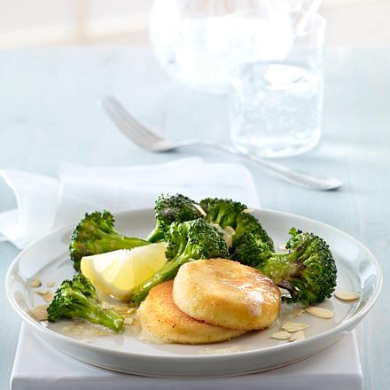 Gebackener Ziegenkäse zu Brokkoli Rezept