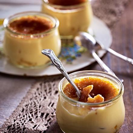 Gebrannte Ingwer-Creme (Ingwer Creme brulee) Rezept