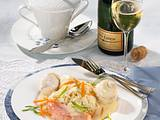 Gebratene Edelfische auf Champagner-Kraut Rezept