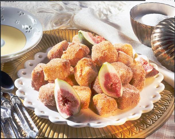 Gebratene Puddingwürfel (Leche Frita) Rezept