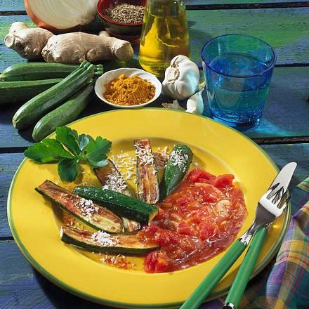 Gebratene Zucchini Rezept