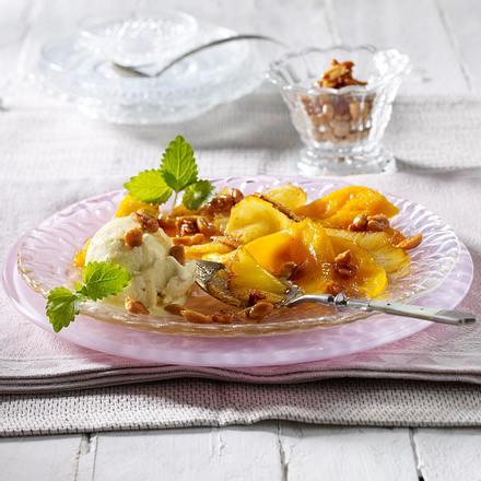 Gebratener Ananas-Mango-Salat Rezept