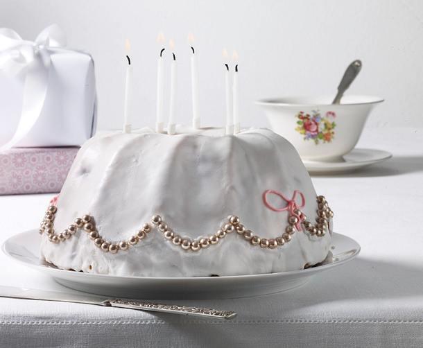 Geburtstagspuffer: Zitronenkuchen  Rezept