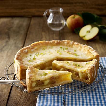 Gedeckter Caipirinha-Apfelkuchen Rezept