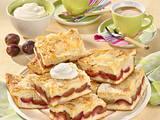 Gedeckter Pflaumen-Butter-Kuchen Rezept