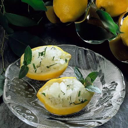 Geeiste Zitrone Rezept