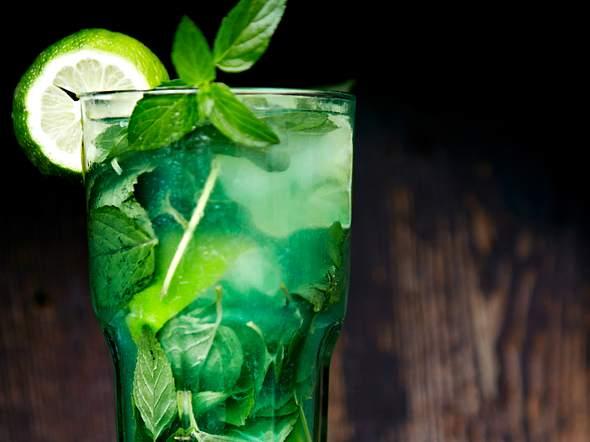 Geeister Minz- Limetten-Tee Rezept