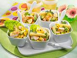 Geflügel-Avocado-Salat Rezept