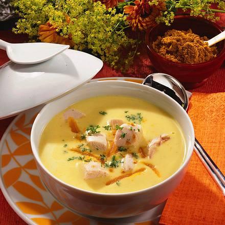Geflügel-Curry-Suppe Rezept
