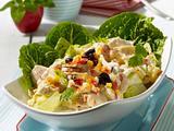 Geflügel-Eisberg-Ananas-Salat mit Thousand-Island-Dressing Rezept
