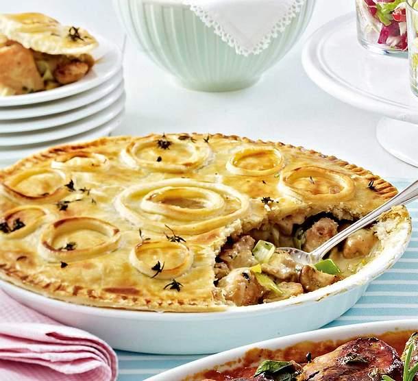 Geflügel-Pie Rezept
