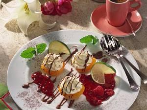 Gefüllte Aprikosen mit feiner Limettencreme Rezept