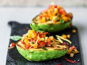 Gefüllte Avocado Rezept