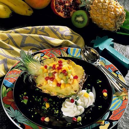 Gefüllte Baby-Ananas Rezept